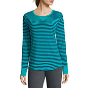 Made For Life Long Sleeve Scoop Neck T-Shirt-Petites