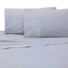 IZOD Brad Stripe Jersey Wrinkle Resistant Sheet Set