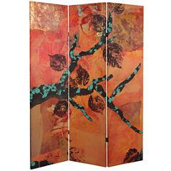 Oriental Furniture 5' Rich Autumn Room Divider