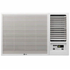 LG 12000 BTU 230V Window-Mounted Air Conditioner with 11200 BTU Supplemental Heat Function