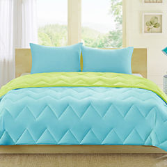 Intelligent Design Zoe Reversible Down-Alternative Comforter Set