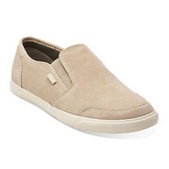 Clarks® Torbay Mens Suede Slip-On Shoes