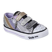 Skechers Twinkle Toes Shuffles Fresh 'n' Fab Sneakers - Little Kids