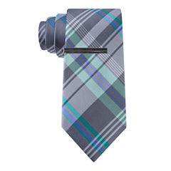 J.Ferrar Varsity Plaid XL Tie