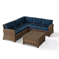Bradenton Wicker 4-pc. Patio Lounge Set