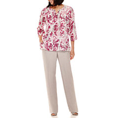 Alfred Dunner® Veneto Valley Scroll Print Tunic or Pants