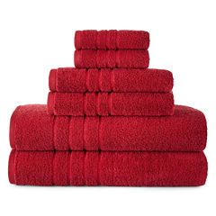JCPenney Home™ Made in USA Supima Cotton 6-pc. Bath Towel Set