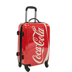 Coca-Cola 20 Inch Hardside Luggage