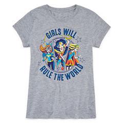 Wonder Woman Graphic T-Shirt-Big Kid Girls