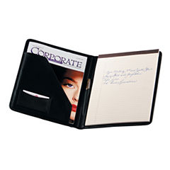 Royce Leather Portfolio With Writing Pad Padfolio