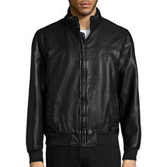 Dockers® Faux Leather Bomber