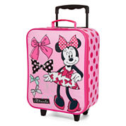 Disney Collection Pink Minnie Mouse Luggage