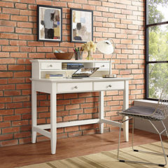 Campbell Writing Desk With Hutch