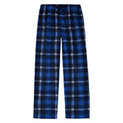 Arizona Microfleece Plaid Pajama Pant- Boys 4-20, Husky