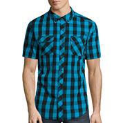 Ecko Unltd.® Short-Sleeve Bison Woven Top
