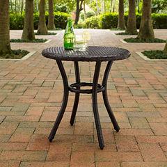 Palm Harbor Wicker Patio Side Table