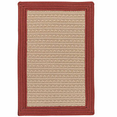 Colonial Mills® Patriot Border Reversible Braided Rug