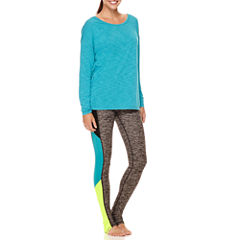 Xersion™ Studio Long-Sleeve Cross-Back Tee or Barre Leggings