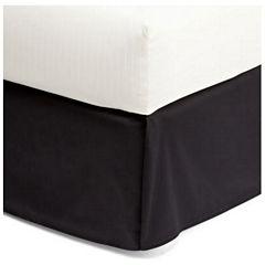 Royal Velvet® Cotton Sateen Tailored Bedskirt