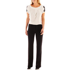 Worthington® Lace-Sleeve Blouse or Modern Trouser Pants