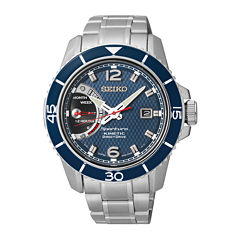 Seiko® Sportura Kinetic Direct Drive Mens Stainless Steel Watch SRG017