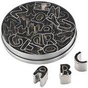 Cake Boss™ 26-pc. Alphabet Fondant and Cookie Cutter Set