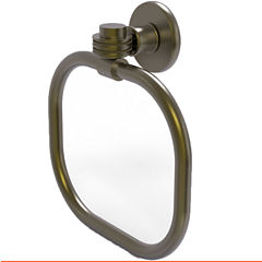 Allied Brass Continental With Dotted Accent Towel Ring