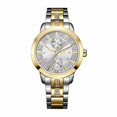 JBW Women's Lumen 0.06 ctw Diamond Stainless Steel Watch J6341B