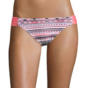 Arizona Mod Dream Coral Hipster Swim Bottoms