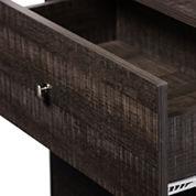 Baxton Studio Decon Wood 3-Drawer Wood Chest