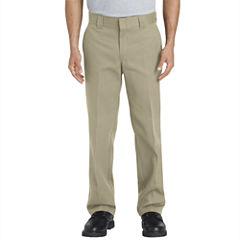 Dickies Slim Fit Flat Front Pants