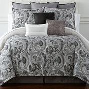 Liz Claiborne® Carlyle 4-pc. Comforter Set & Accessories