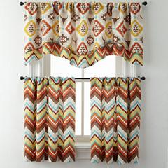 Toro or Summit Rod-Pocket Kitchen Curtains