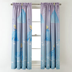 Disney Cinderella Enchanted Moment Room-Darkening Rod-Pocket/Back-Tab Curtain Panel
