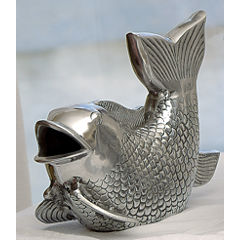 St. Croix Trading Cast Aluminum Decorative Fish
