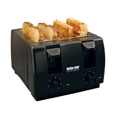 Better Chef 4-Slice Dual-Control Toaster