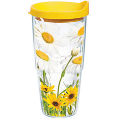 Tervis® 24-oz. White Daisies Insulated Tumbler
