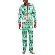 North Pole Trading Co. Family Pajamas Union Suit - Men's