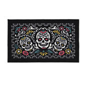 Mohawk Home® Sugar Trio Skull Washable Rug - 20
