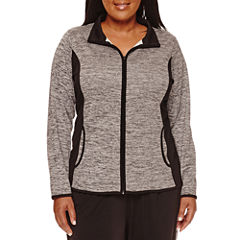 Made for Life™ Long-Sleeve Mesh Jacket - Plus