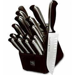 J.A. Henckels Fine Edge Synergy 17-pc. Knife Set
