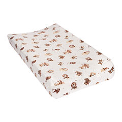 Trend Lab® Safari Rock Band Flannel Changing Pad Cover