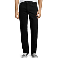 Arizona Flex Denim Original Straight-Leg Jeans