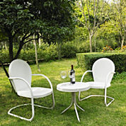 Griffith Metal 3-pc. Patio Lounge Set