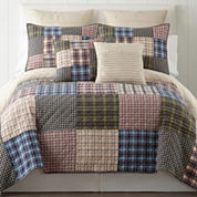 Home Expressions Loden Reversible Quilt & Accessories
