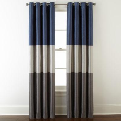 studio trio grommettop curtain panel