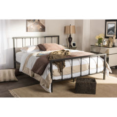 queen bed frames beds & headboards for the home - jcpenney