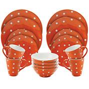 Maxwell & Williams™ Sprinkle Polka Dot 16-pc. Dinnerware Set