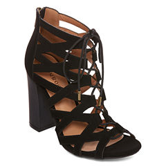 Bamboo Embark Lace-Up Sandals