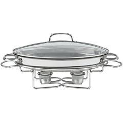 Cuisinart® Stainless Steel Oval Buffet Server